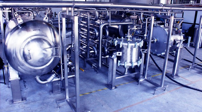 Award winning Continuous Bioinactivation System