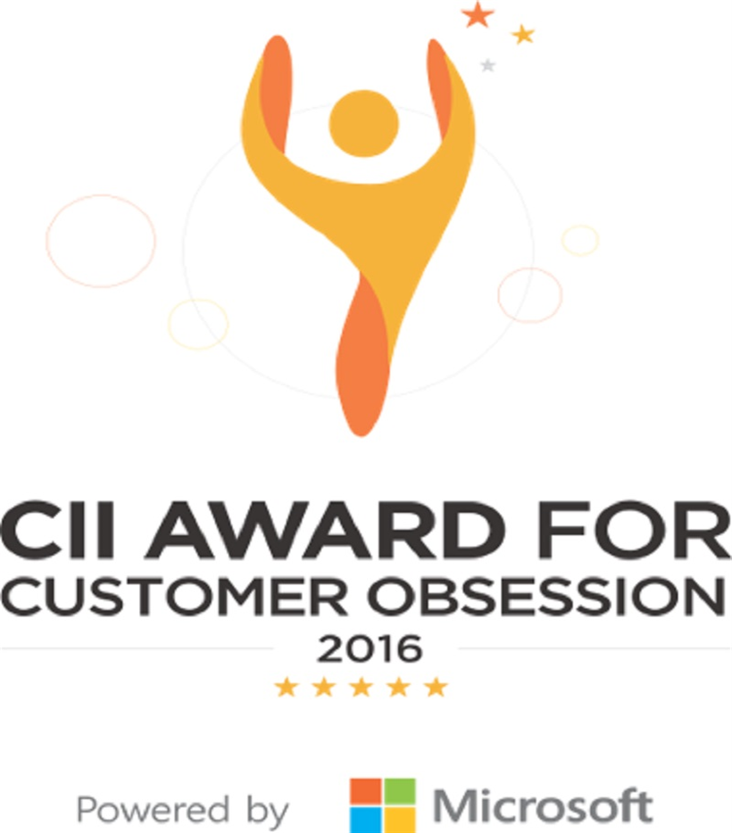 CII Award for Customer Obsession